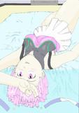 ゾイドワイルド記念にスラゼロのリノン描いてみた