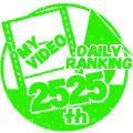デイリー総合ランキング2525位