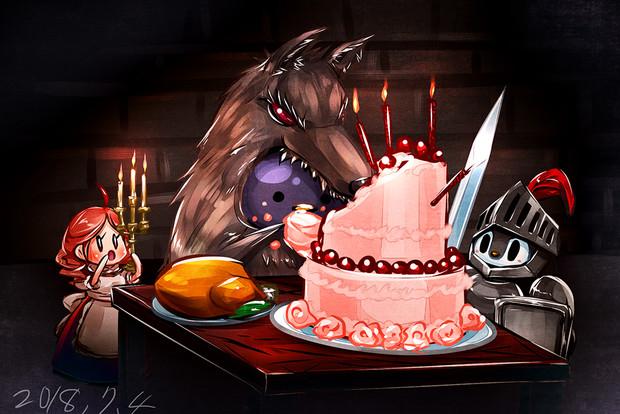 『誕生日おめでとうw』のサムネイル