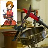 異世界魔王と召喚少女の奴隷魔術の3DCGモデル(Blender)