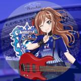 BanG Dream!(バンドリ)今井リサ×アビスパ福岡