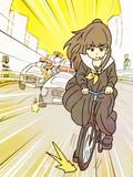 盗んだバイクで走り出す神谷奈緒