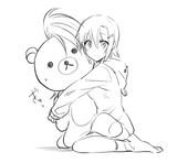 きむらっくまを抱く李衣菜