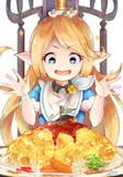 シャルちゃんがとろとろオムライス食べるところ見たい