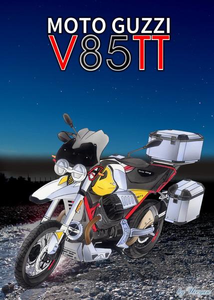 『MOTO GUZZI V85TT』のサムネイル