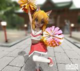 【MMD】チア仙狐さん!【まめる式】