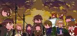 でふぉ版 ☆ SAO( 電撃文庫MAGAZINE Vol.39~41 ポスター ) ※ マウス画